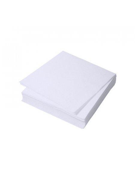Салфетки, белые, 20*20, 100 шт в пачке