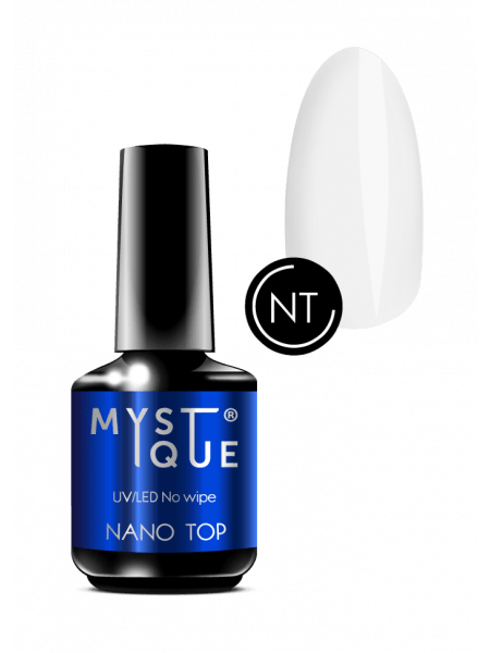 No wipe Nano Top Mystique, топ без липкого слоя, 15 ml