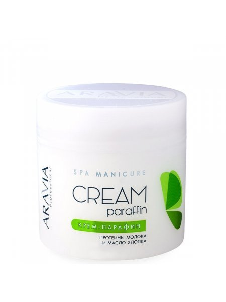 ARAVIA Professional Крем-парафин Натуральный с молочными протеинами и маслом хлопка, 300 мл