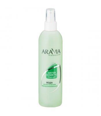 ARAVIA Professional Вода косметическая минерализованная с мятой и витаминами, 300 мл