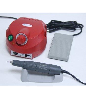 Аппарат для маникюра Marathon ESCORT-II PRO NAIL H37LN, с педалью, красный