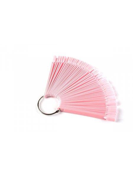 Ромашка веерная на кольце, цвет розовый (50шт)