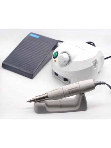 Аппарат для маникюра Marathon Escort II Pro H35LSP White, с педалью-вариатором