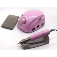 Машинка для маникюра и педикюра Marathon 3 Champion/SH20N с педалью, розовый