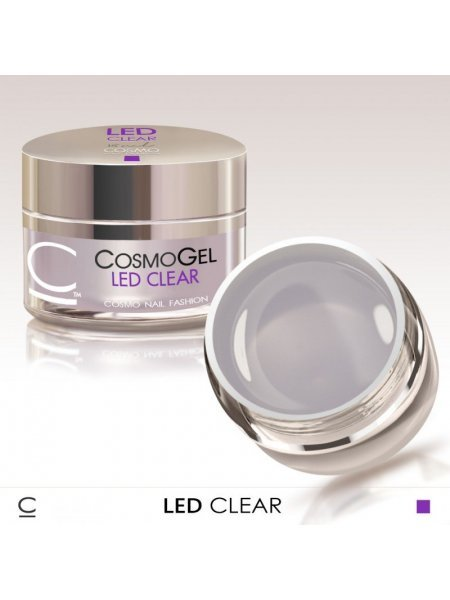 COSMO ГЕЛЬ CLEAR LED 50 МЛ