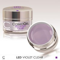 COSMO ГЕЛЬ CLEAR VIOLET LED 15 МЛ