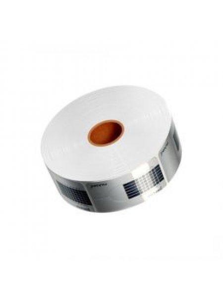Форма для наращивания ногтей средняя серебро, 500 шт