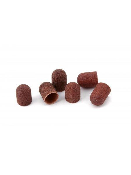 Абразивный колпачок для педикюра, 10 мм диаметр, 120 грит, 30 шт