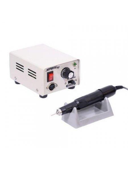 Аппарат для маникюра Strong 90 102 с педалью в коробке, аналог