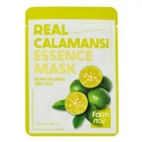 FarmStay, Real Calamansi Essence Mask, Маска для лица, 23 мл