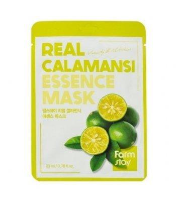 FarmStay, Real Calamansi Essence Mask, Маска для лица, 23 мл