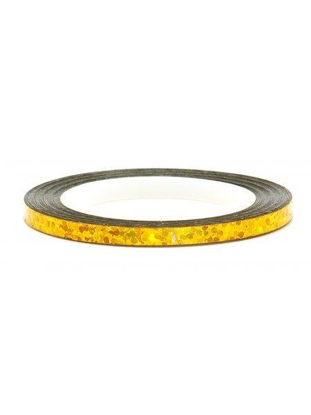 Нить для дизайна ногтей фольга, золото