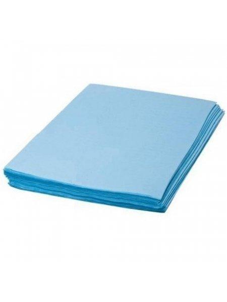 Салфетки, 40*40, голубой цвет, 200 штук