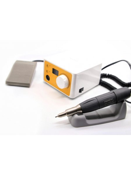 Аппарат для маникюра Marathon 3N Yellow H35LSP, с педалью