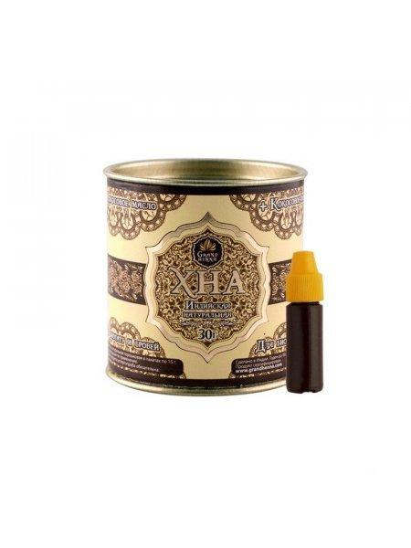 Grand Henna Хна для бровей и биотату Коричневая, 30 грамм