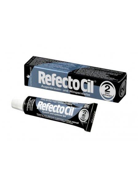 RefectoCil №2 Краска для бровей Иссиня-черная, 15 мл