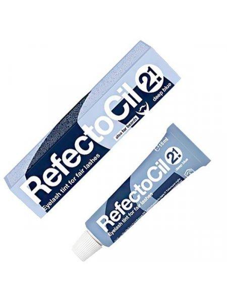 RefectoCil №2.1 Краска для бровей Темно-синяя, 15 мл