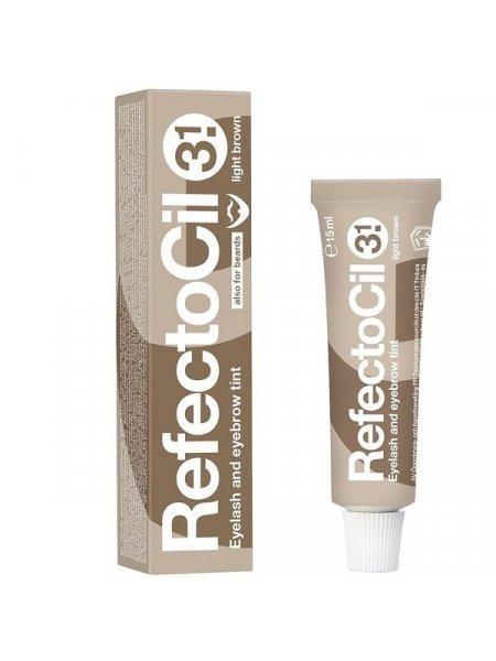 RefectoCil №3.1 Краска для бровей Светло-коричневая, 15 мл