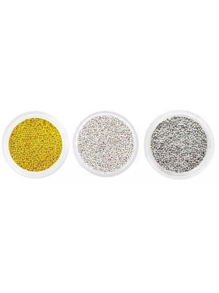 Набор металлических бульонок, 3 шт