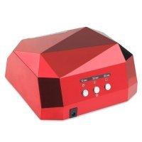 Гибридная лампа для сушки гель лака LED+CCFL, 36 Вт