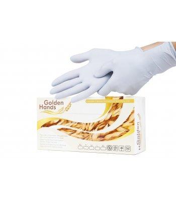 Перчатки Нитриловые GOLDEN HANDS (200 шт., размер S)