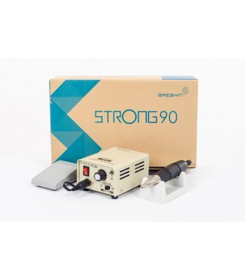 Аппарат для маникюра Strong 90N 102 с педалью в коробке