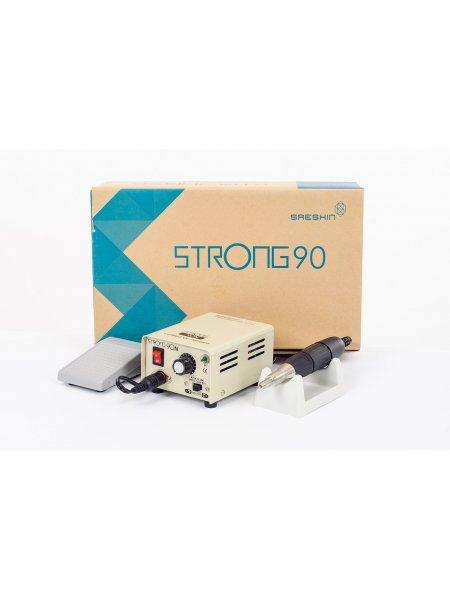 Аппарат для маникюра Strong 90N 102 (с педалью в коробке)