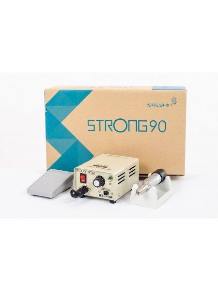Аппарат для маникюра Strong 90N 120 (с педалью в коробке)