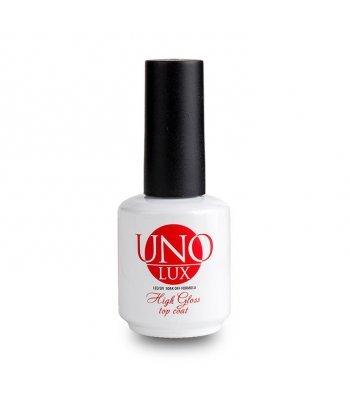 Топ UNO LUX High Gloss Top Coat (15 ml, без липого слоя)